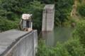 柳淵砂防ダム(大蔵村)