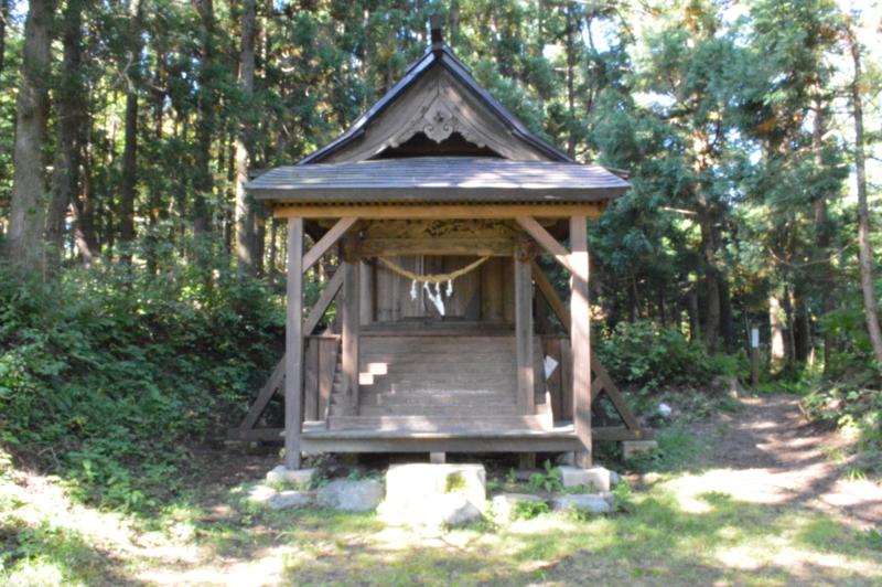 熊野神社 奥宮(長井市)