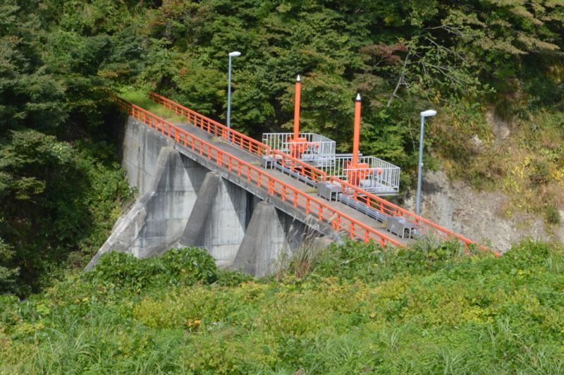 銀山川ダム(尾花沢市)