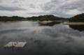 金沢調整池 ダム湖(郡山市)