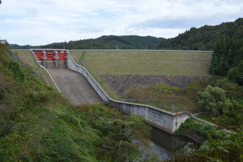 千五沢ダム(石川町)