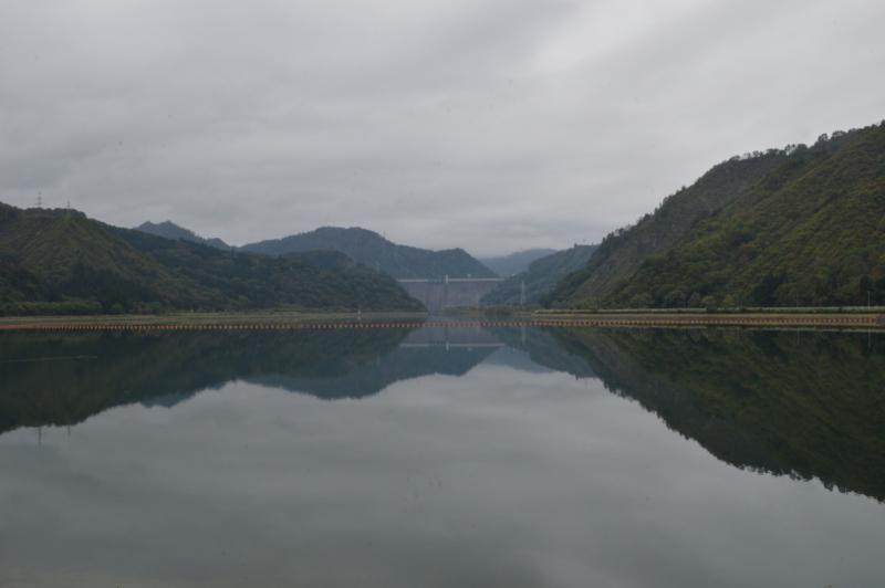 只見ダム ダム湖(只見町)