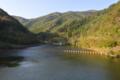 綾里川ダム ダム湖(大船渡市)