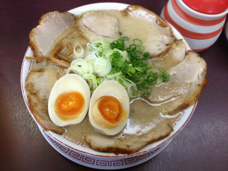 麺工房 きわみや こってり肉玉らーめん(仙台市)