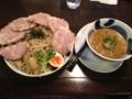 荒川らーめん魂 あしら 全粒粉ちゃーしゅうつけ麺(村上市)