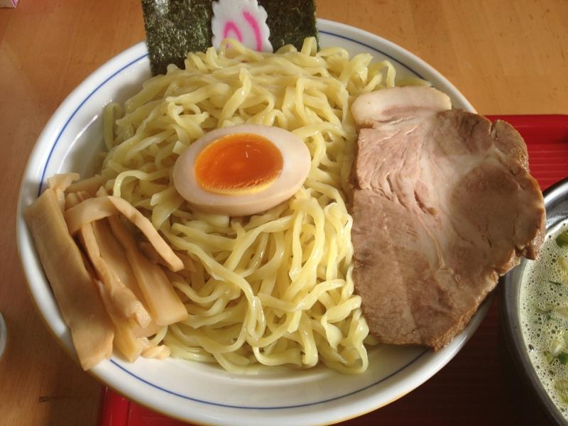今田商店 ニラネギこってりつけ麺(新庄市)