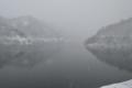 白水川ダム ダム湖(東根市)