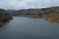 木戸ダム ダム湖(楢葉町)