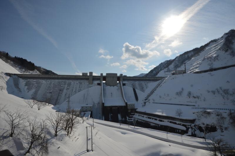 月山ダム(鶴岡市)