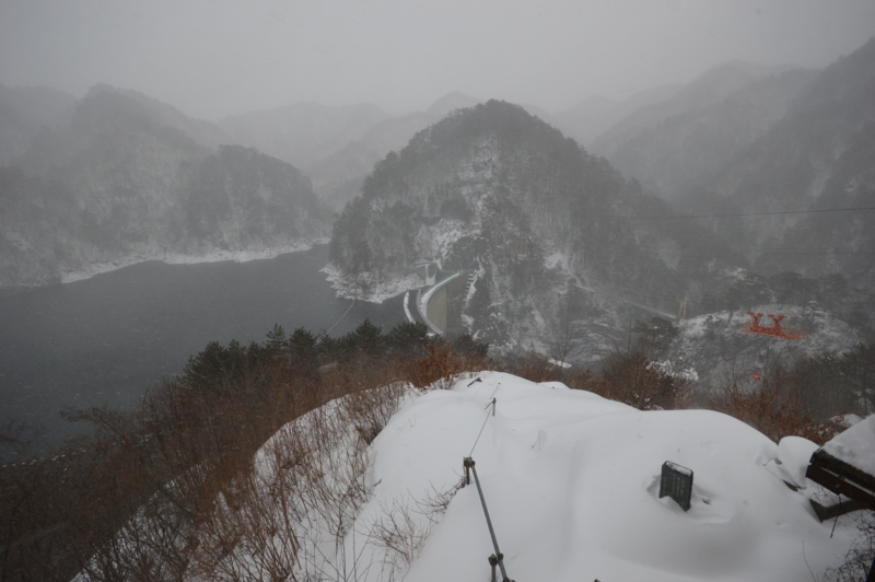 川俣ダム(日光市)