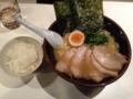 横濱家系 のじ家 チャーシュー麺+半ライス(山形市)