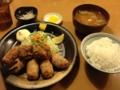 大盛りや もり達 合盛鶏唐定食(天童市)