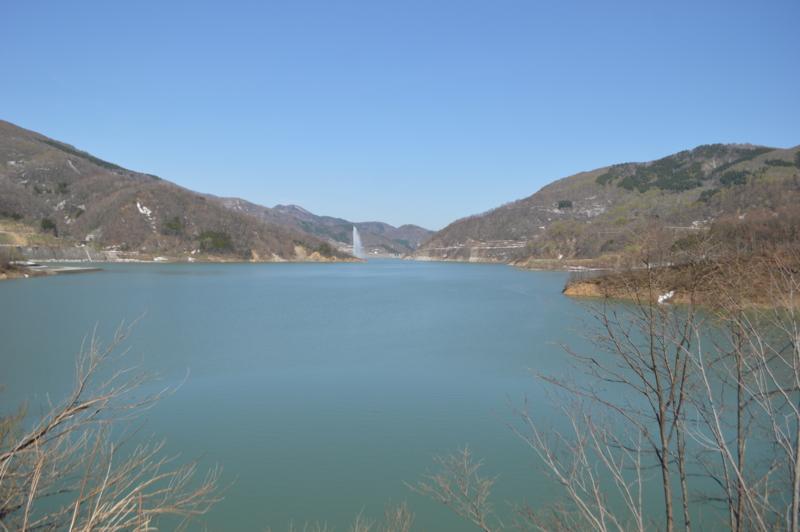 寒河江ダム(西川町)