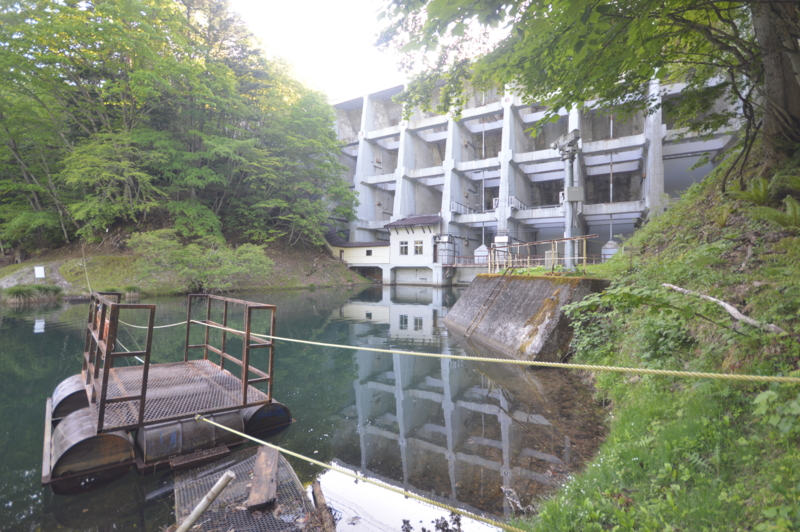 丸沼ダム(片品村)