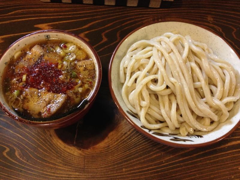 くをん 辛つけ麺(福島市)