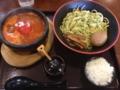 節系とんこつらぁ麺 おもと トマトつけ麺(仙台市)