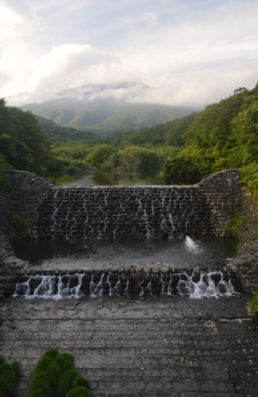 横川砂防ダム(七ヶ宿町)