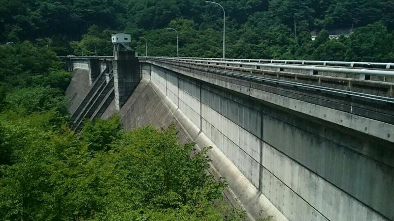 霧積ダム(安中市)