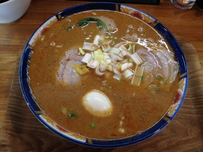 中華麺 ごとう 熟成味玉坦々麺(米沢市)