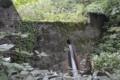 シラガ沢砂防ダムから下流の砂防ダム(鶴岡市)