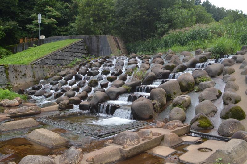 戸沢川砂防ダム(鶴岡市)