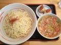 金ちゃん 寒河江店 海老つけ麺(寒河江市)