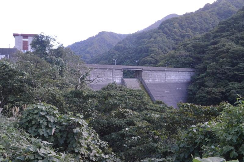 谷根ダム(柏崎市)