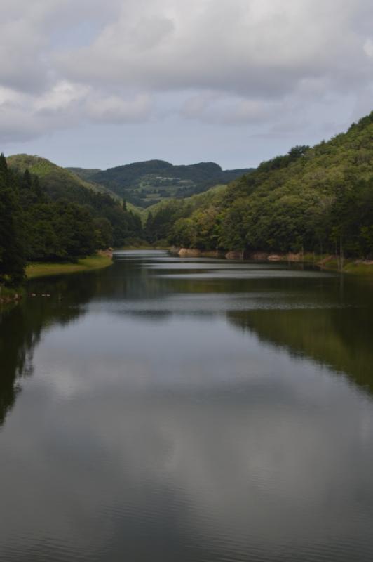 岩坂ダム ダム湖(珠洲市)