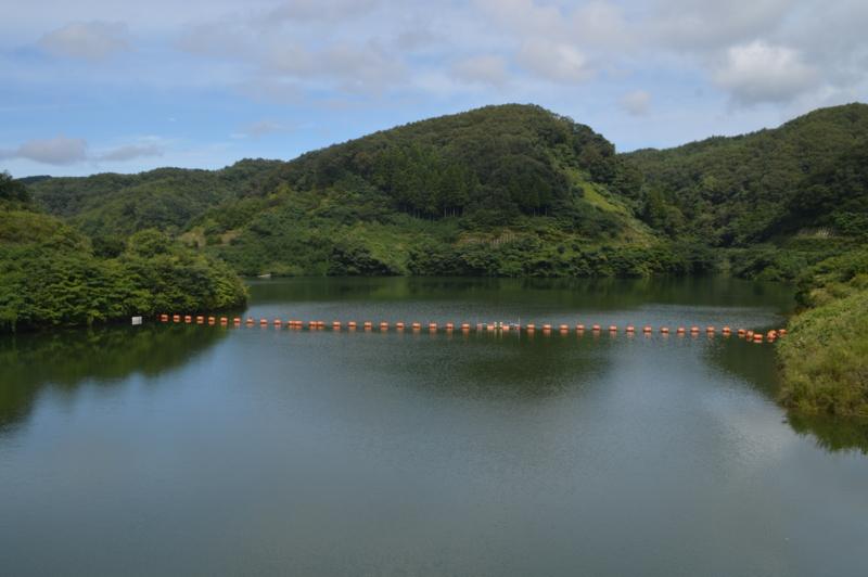 北河内ダム ダム湖(能登町)
