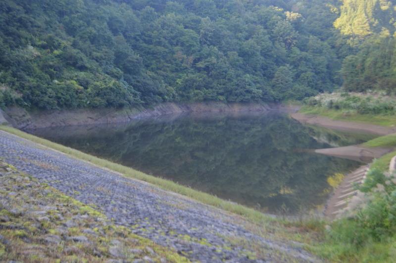 坪山ダム ダム湖(十日町市)