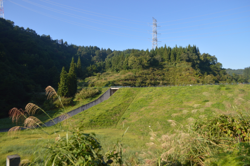 松葉沢ダム(十日町市)