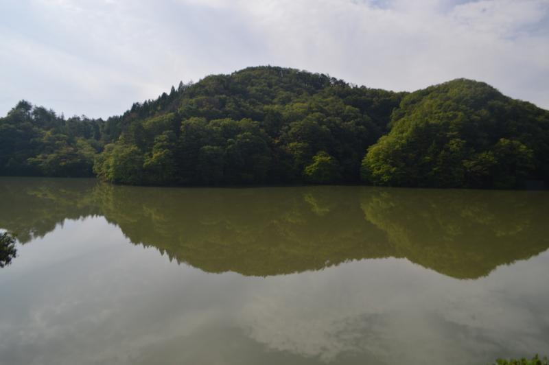 愛子溜池 ダム湖(仙台市)