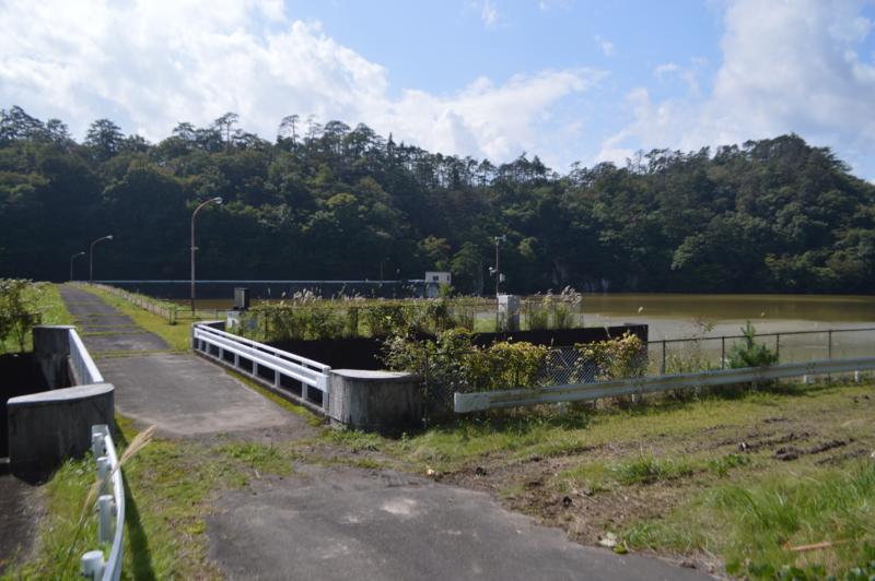村田ダム ダム湖(村田町)