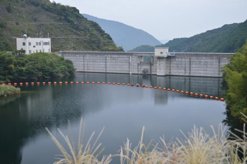 青野大師ダム(南伊豆町)