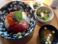 千漁家 海鮮丼定食(富士)(沼津市)