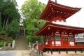 慈尊院 多宝塔と丹生官省符神社への石段
