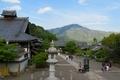 妙満寺 本堂から見る比叡山