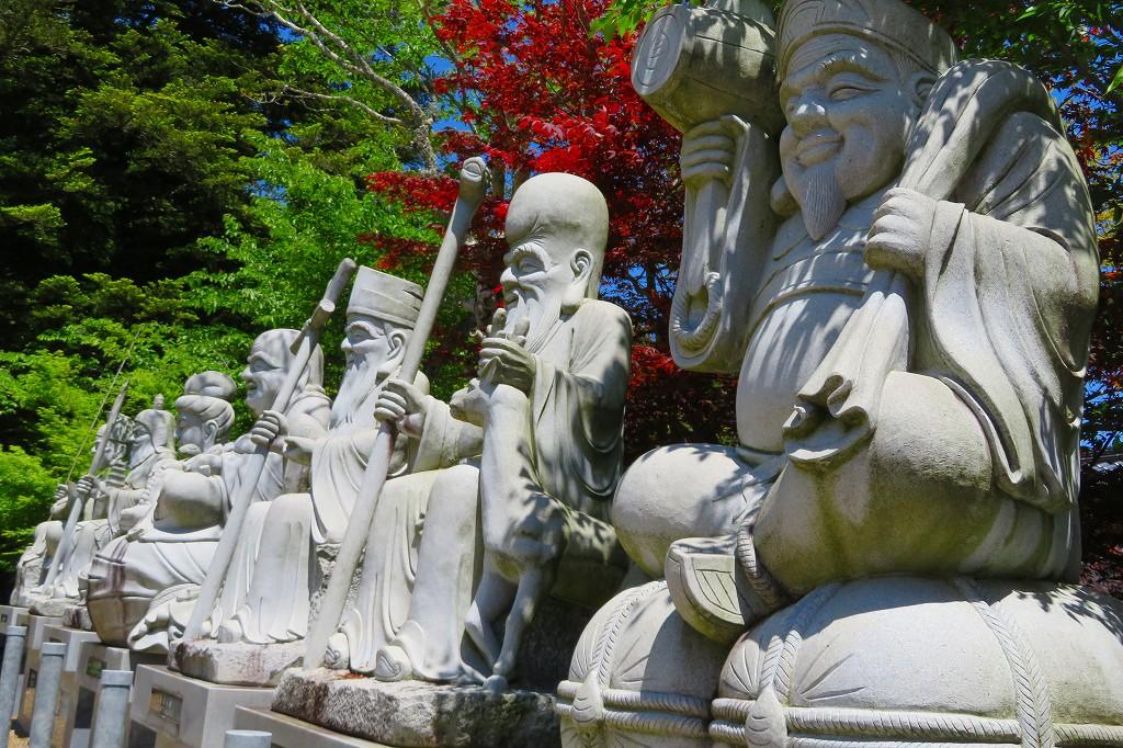 白毫寺 七福神像