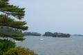 瑞巌寺 五大堂から見る松島湾
