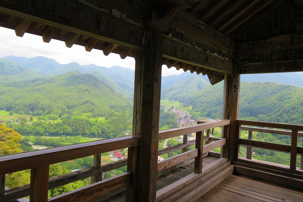 立石寺 五大堂からの眺め