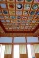 橘寺 花の天井画