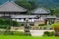 入鹿の首塚と飛鳥寺