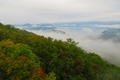 ロープウェイから見える洞爺湖