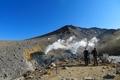 旭岳散策路 噴気孔