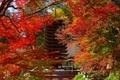 談山神社 木造の十三重塔