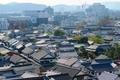 倉敷美観地区 阿智神社から眺める倉敷の町並み