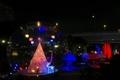 OSAKA光のルネサンス2019 バラ園のオブジェ