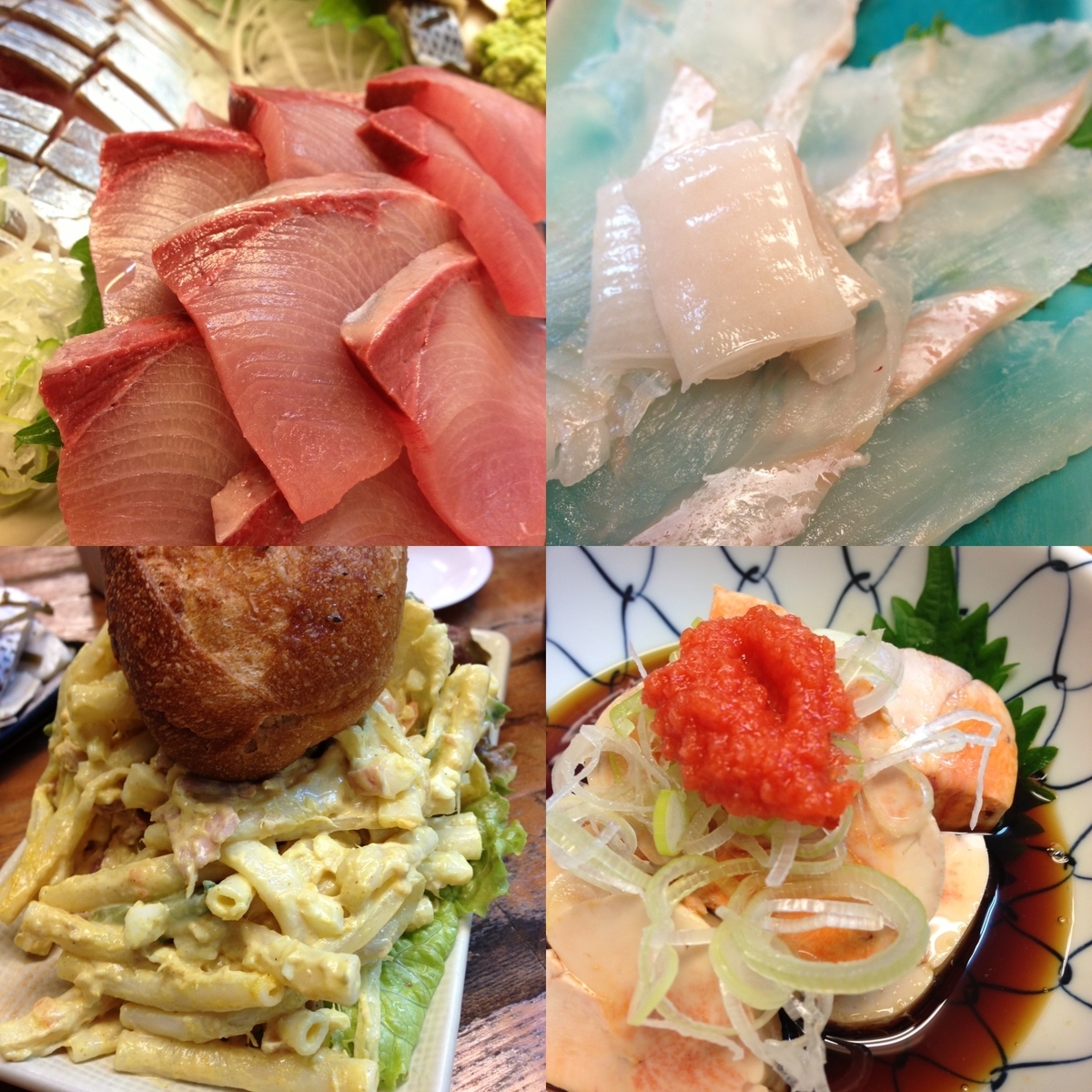 魚がし 福ちゃん 2号店の料理