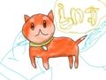 米田さんの飼い犬ライス