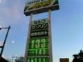ガソリン価格を見守る